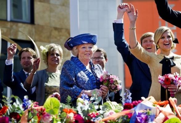 Bloemen Koninginnedag Veenendaal 2012