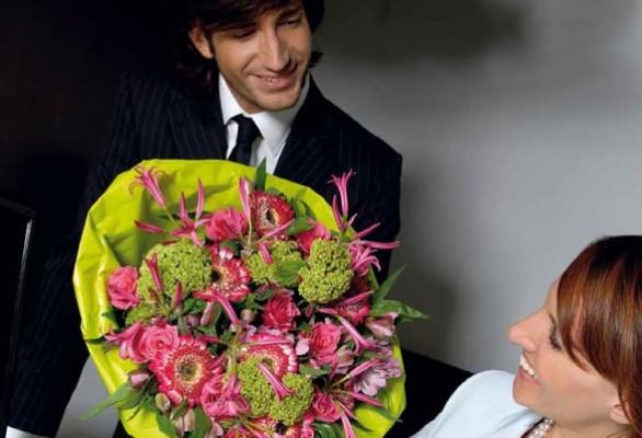 Altijd verse bloemen op kantoor