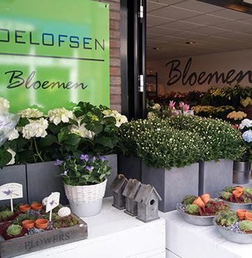Roelofsen Bloemen pand Ellekoot Veenendaal