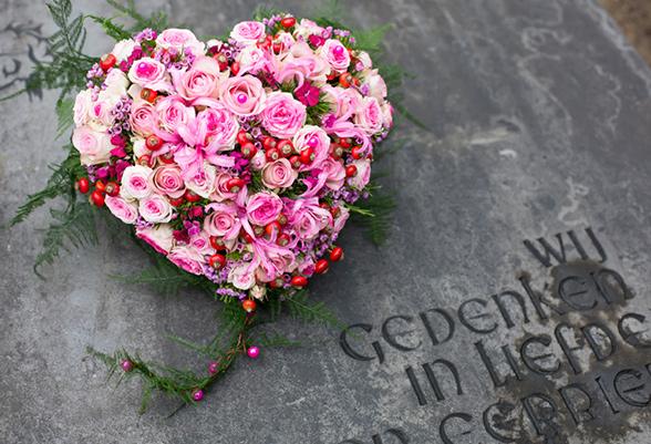 Rouwbloemen en rouwboeketten Veenendaal