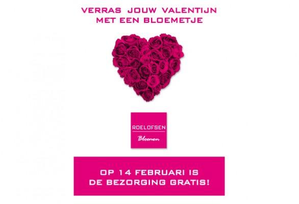 Valentijnsboeket bestellen Veenendaal