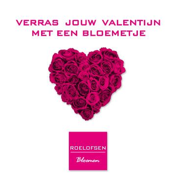 Valentijnsboeket laten bezorgen