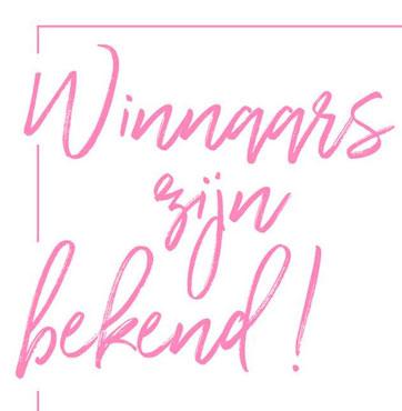 De winnaars van de lentesferen kanskaart zijn bekend!