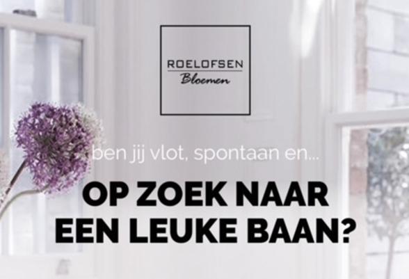Vacatures Roelofsen Bloemen Veenendaal