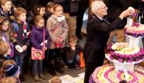 'Bloementaart' voor Koningin Beatrix