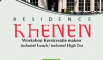 Workshops Kerstcreatie maken inclusief Lunch of High Tea