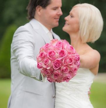Bruidsbloemen Veenendaal Jeroen en Miranda