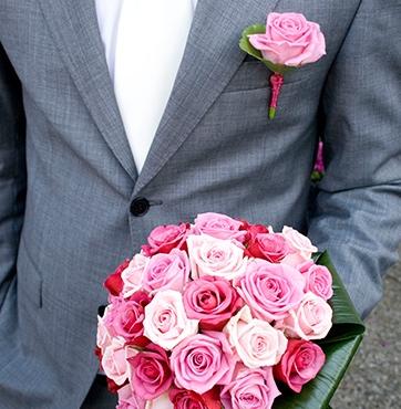 Bruidsbloemen corsages Veenendaal - Sander en Marlies