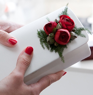 Bruidsbloemen versiering Veenendaal Bart & Heidi