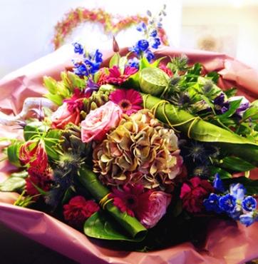 Iedere week kans maken op een gratis boeket bloemen