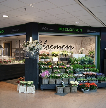 Roelofsen Bloemen pand Passage Veenendaal Centrum