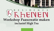 Workshop paasbloemstuk maken inclusief high tea