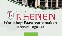 """Workshop """"Paascreatie maken"""" inclusief Engelse High Tea"""