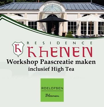 Paasbloemstuk workshop Rhenen